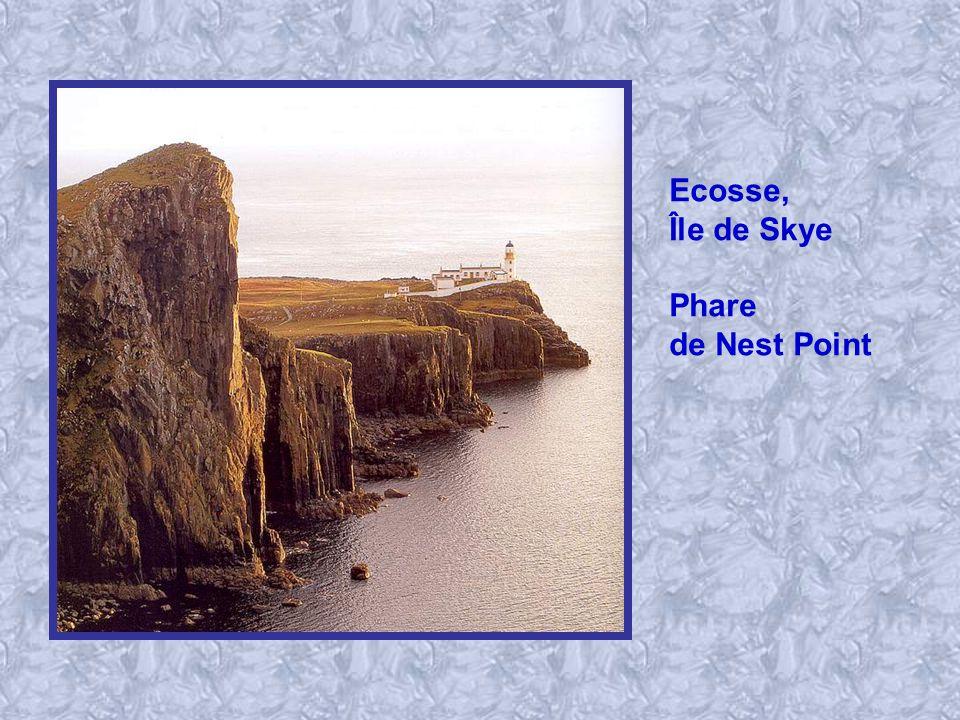 Ecosse, Île de Skye Phare de Nest Point