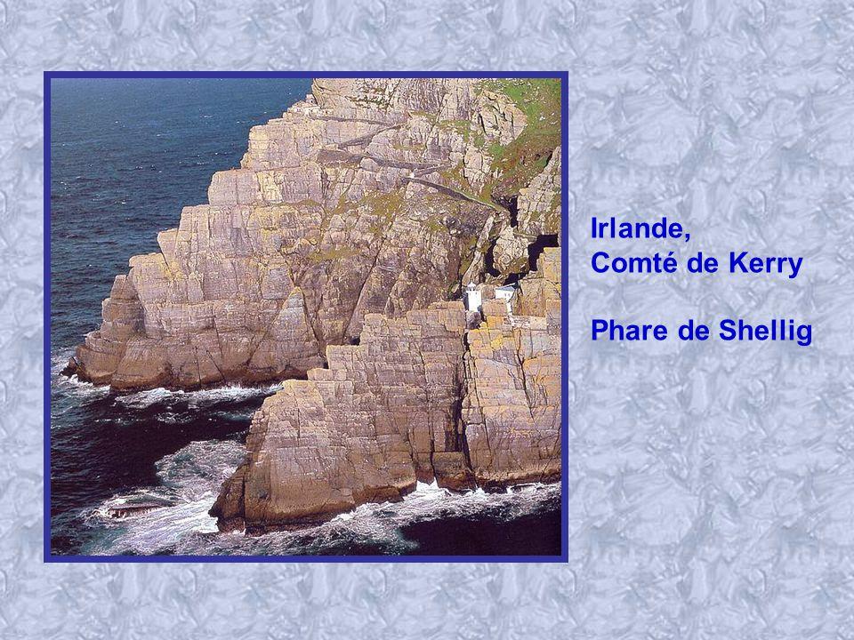 Irlande, Comté de Kerry Phare de Shellig