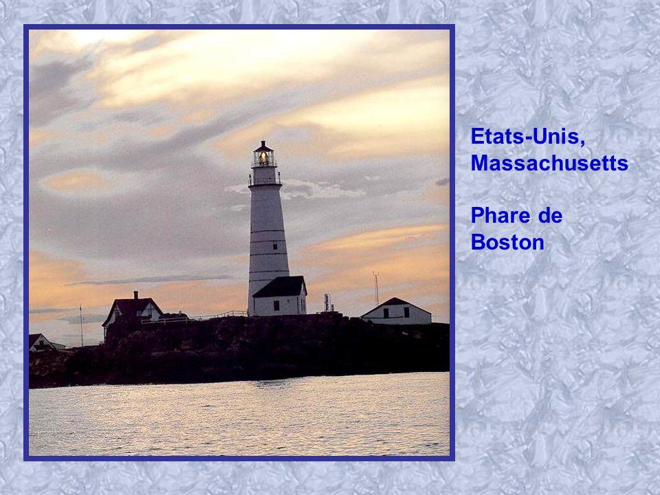 Etats-Unis, Massachusetts Phare de Boston