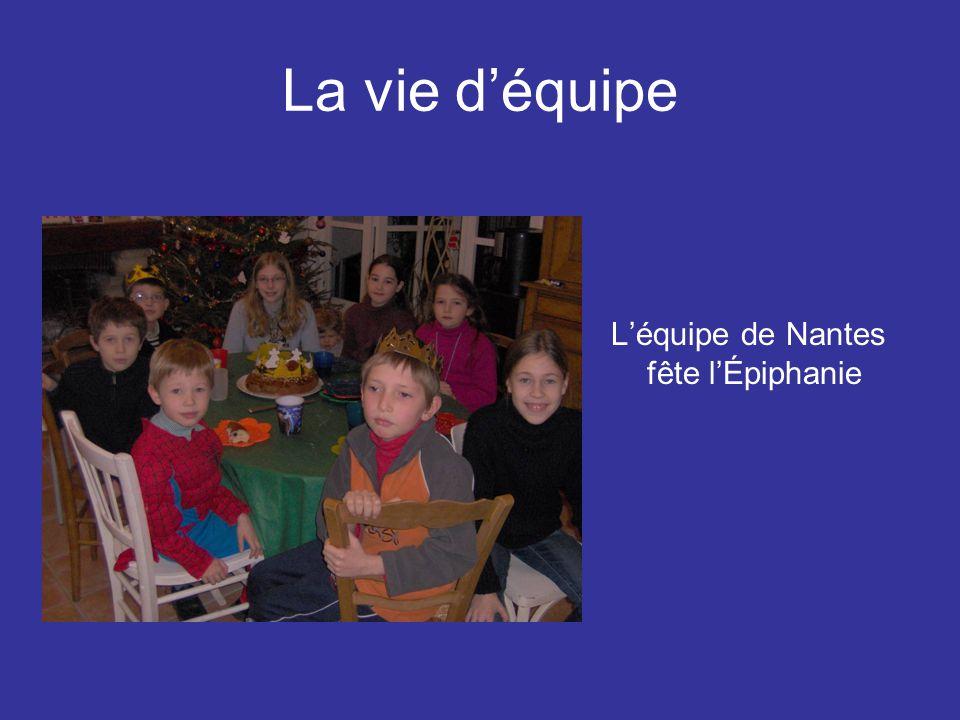 LA VIE D'EQUIPE Net c'est une centaine d' équipes en France dans 53 départements, c'est aussi des paroisses et des écoles qui sont concernées Les amis