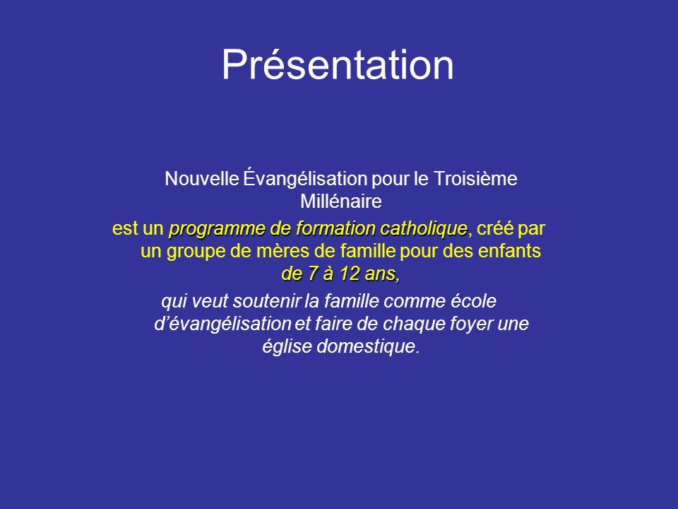 C 'est une réponse à l'appel de Jean Paul II à la Nouvelle Évangélisation. N.E.T.