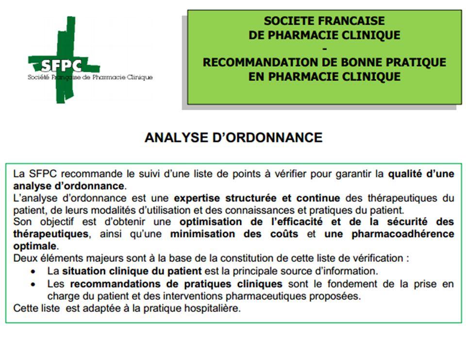 La situation clinique du patient est la principale source d'information.