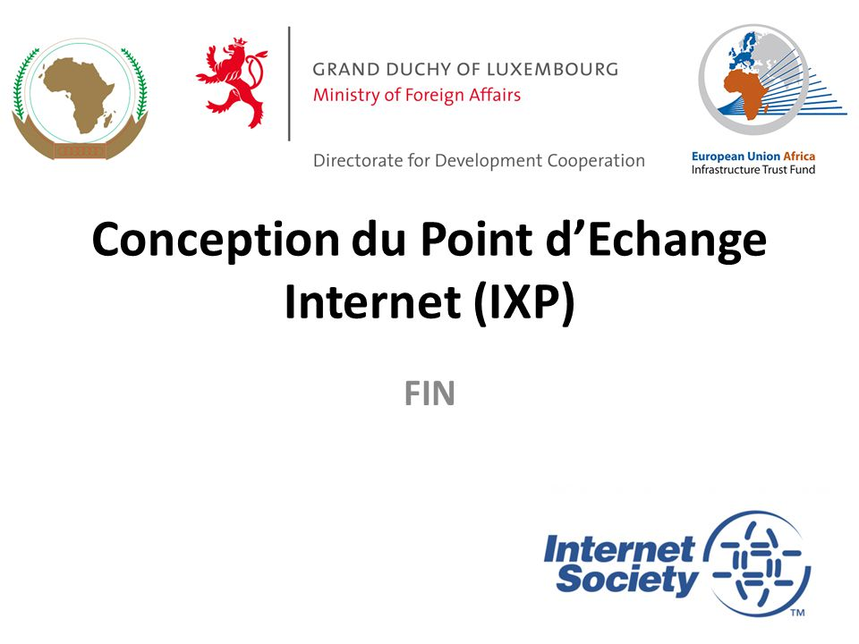 Conception du Point d'Echange Internet (IXP) FIN 63