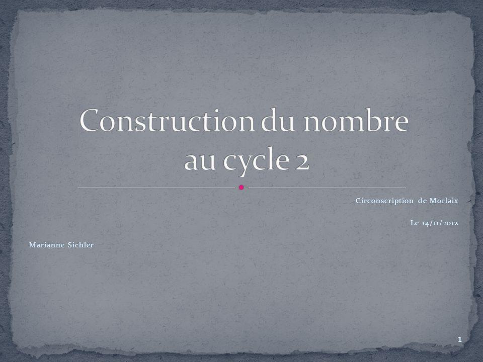 Circonscription de Morlaix Le 14/11/2012 Marianne Sichler 1