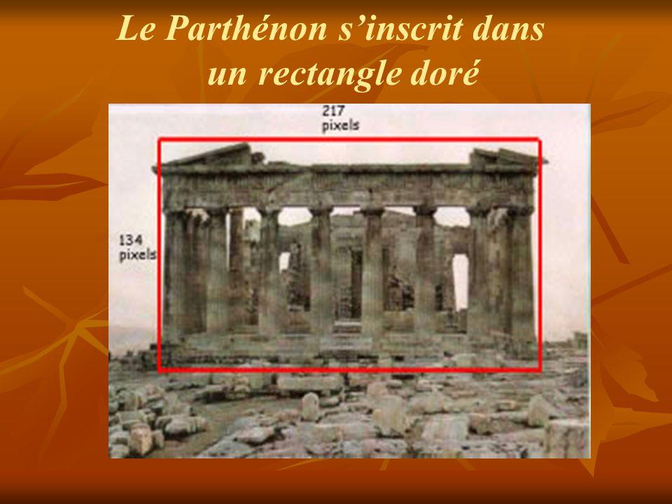 447-432 av.JC Le sculpteur grec Phidias utilise le nombre d'Or pour décorer le Parthénon à Athènes, en particulier pour sculpter la statue d'Athéna Parténos.