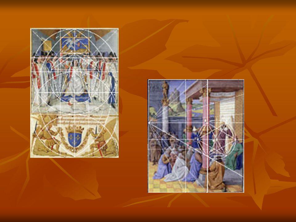 L étude de l ' illustration des Grandes Chroniques de France peintes par Jean Fouquet a été l ' occasion de vérifier l ' existence d ' un trou de compas dans une scène mettant en œuvre le pentagone régulier
