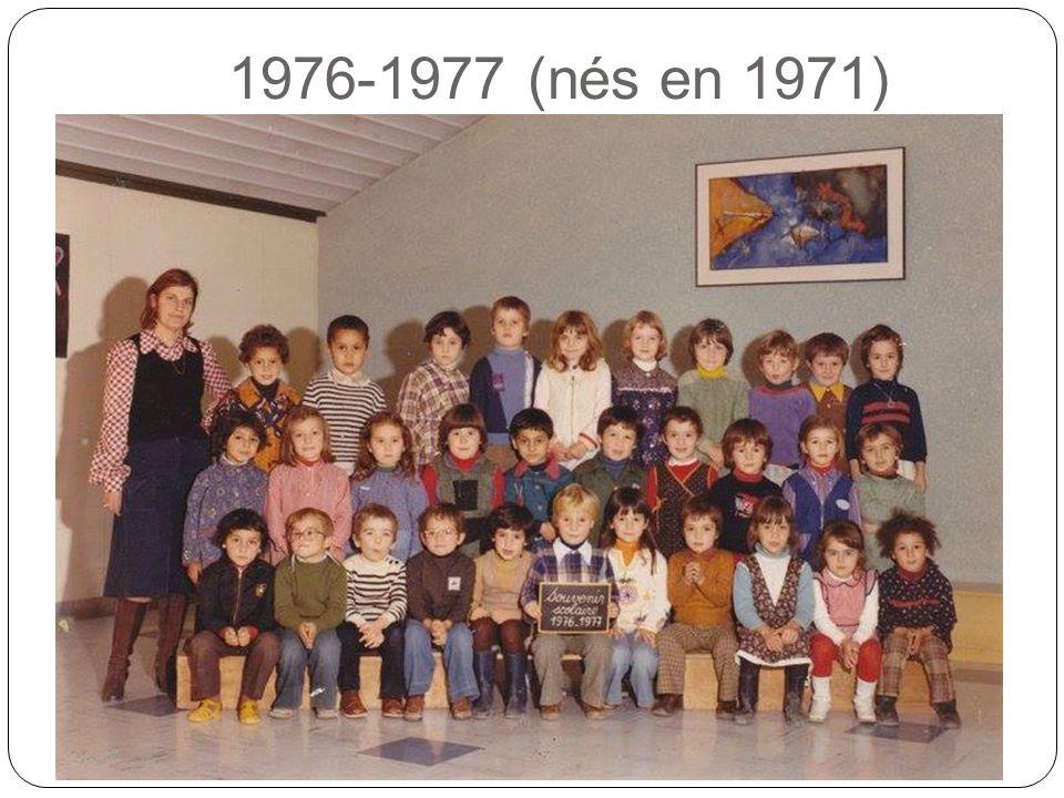 1976-1977 (nés en 1971)