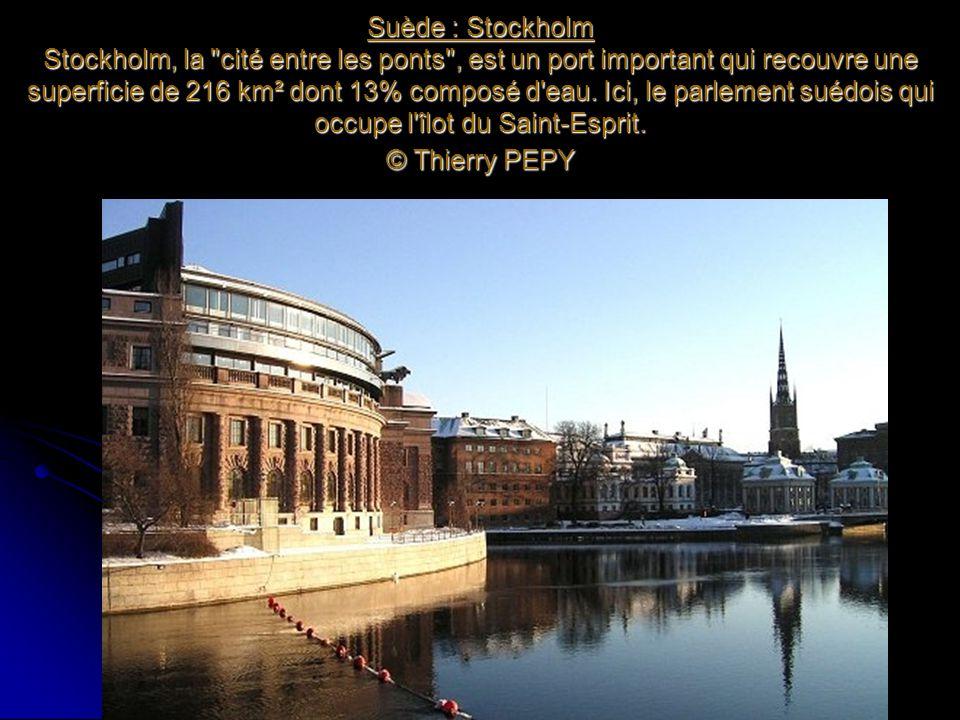 Suède : Stockholm Stockholm, la