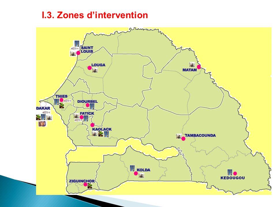 I.3. Zones d'intervention