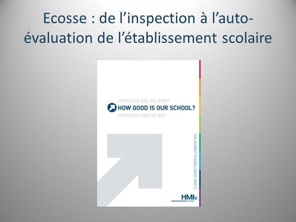Ecosse : de l'inspection à l'auto- évaluation de l'établissement scolaire
