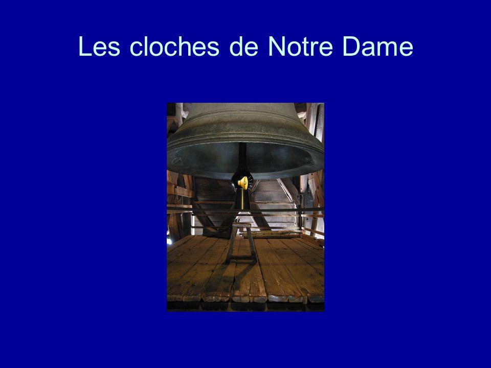 Les cloches de Notre Dame