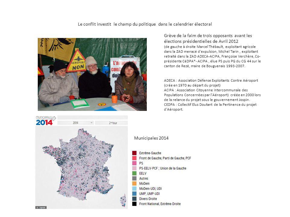 Le conflit investit le champ du politique dans le calendrier électoral Grève de la faim de trois opposants avant les élections présidentielles de Avri