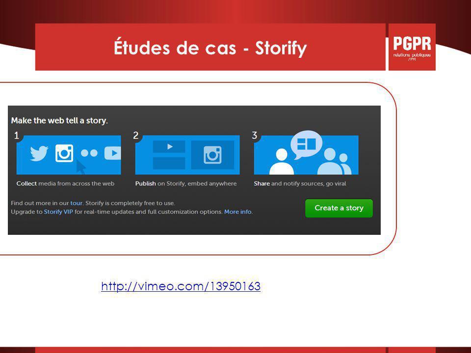 Études de cas - Storify http://vimeo.com/13950163