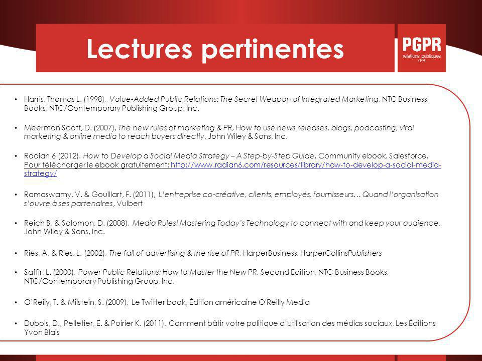 Lectures pertinentes Harris, Thomas L.