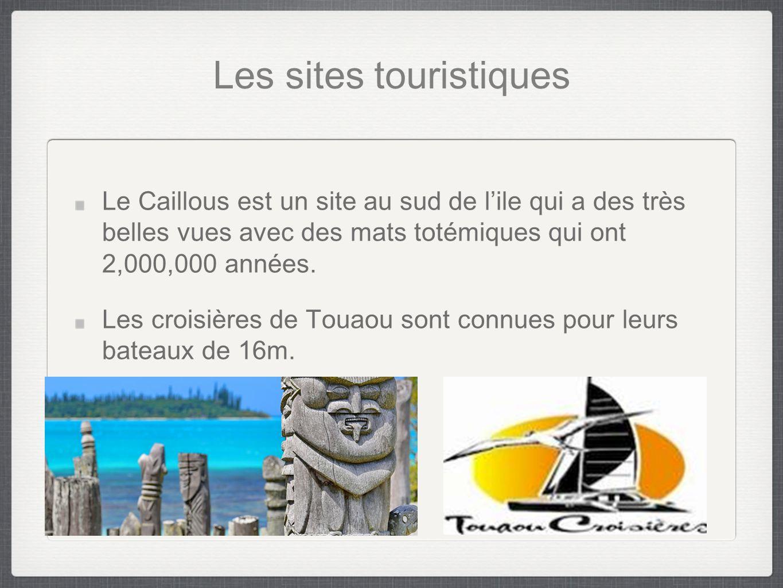 Les sites touristiques Le Caillous est un site au sud de l'ile qui a des très belles vues avec des mats totémiques qui ont 2,000,000 années.