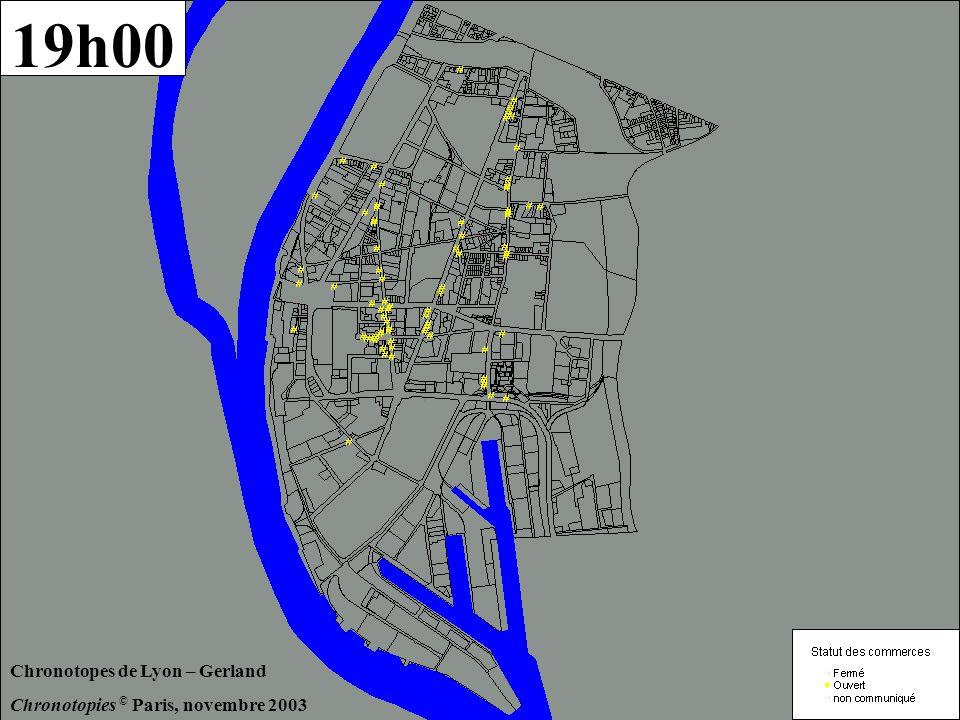 1er décembre 2003 Temps de la Ville - Lyon Gerland - équipe Chronotopies A.