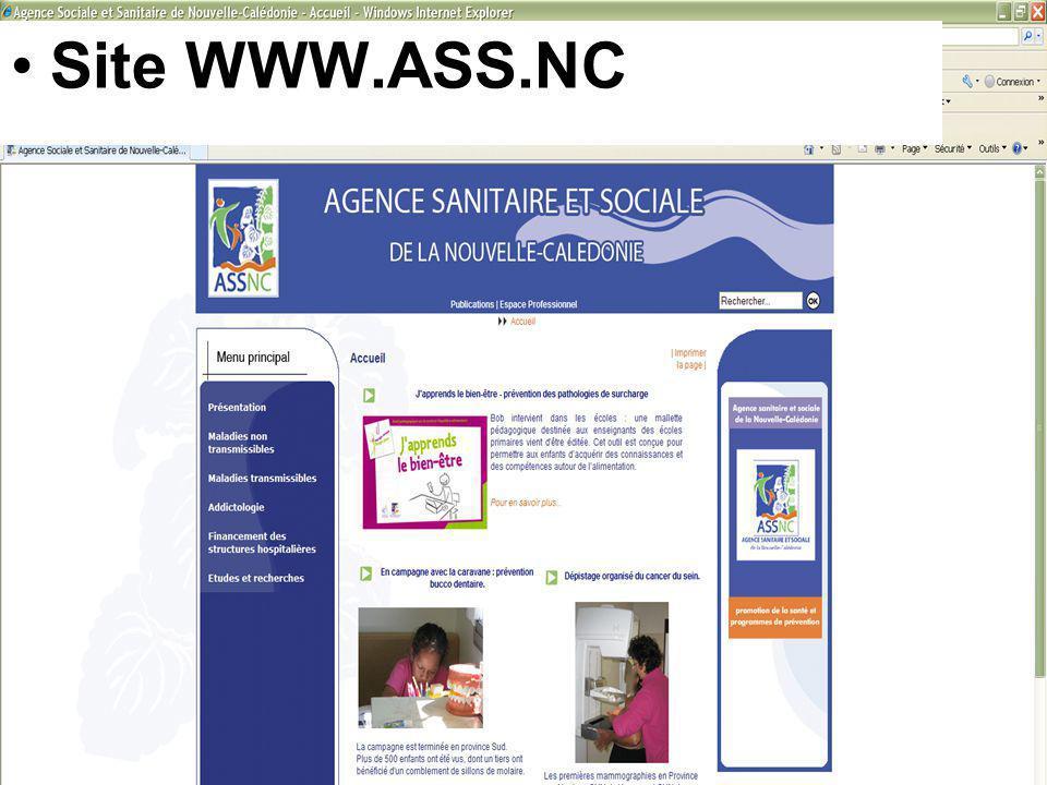 Site WWW.ASS.NC