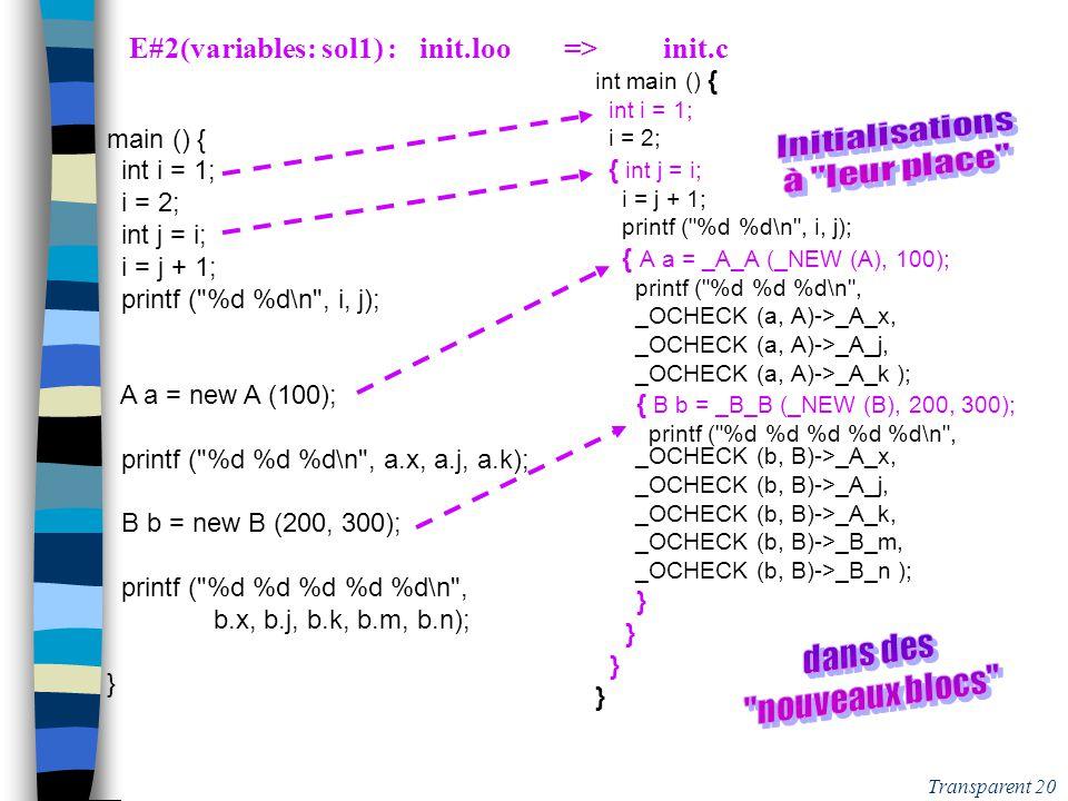 Transparent 19 E#0 : Un Souci évité grâce à la Règle Java .