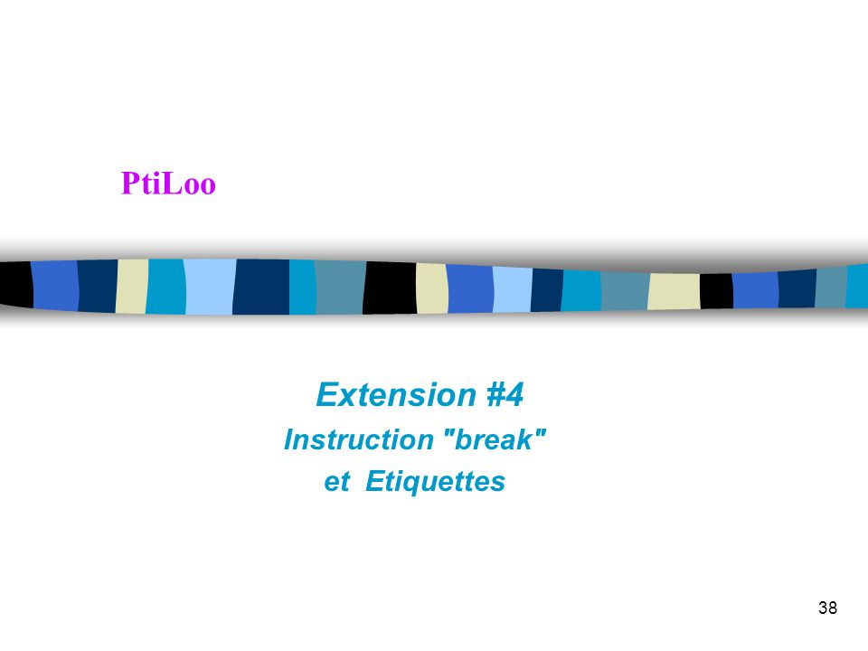 Transparent 37 Extensions PtiLoo: boucle