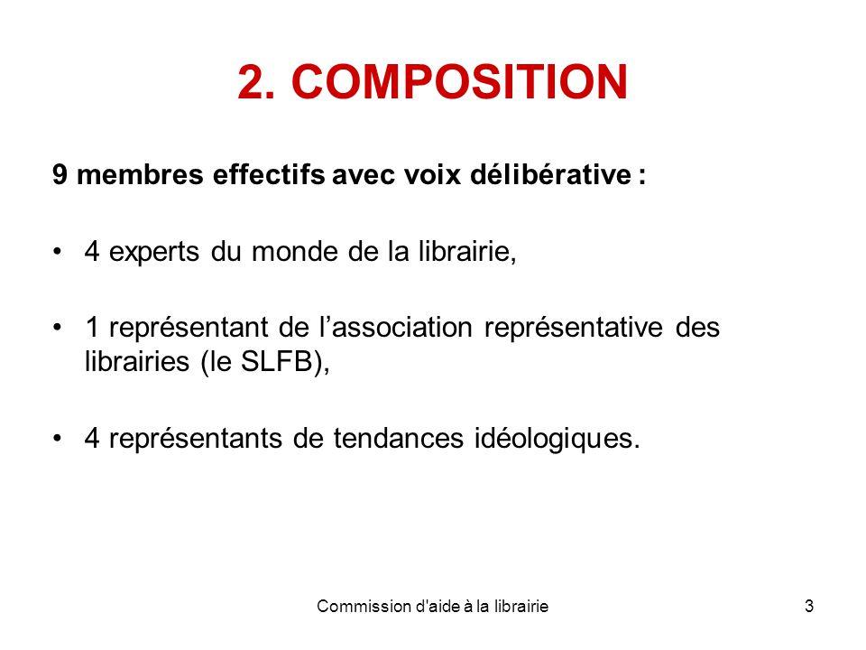 Commission d aide à la librairie3 2.