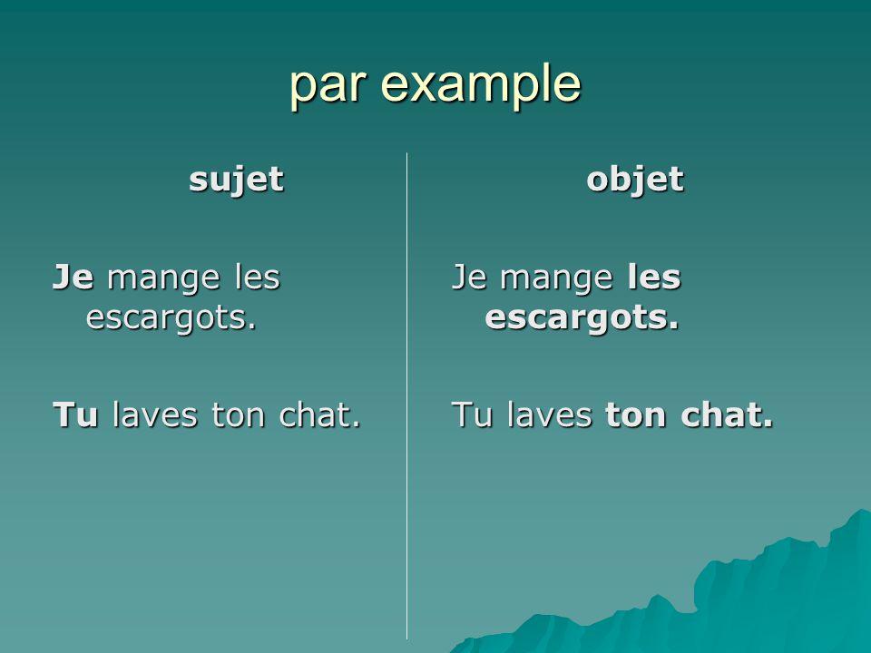 avec deux verbes  le pronom d'objet est directement devant le verbe dont il est l'objet.