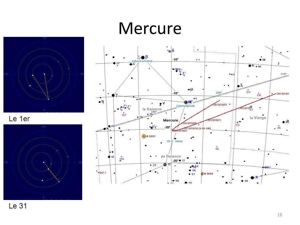 Mercure 18 Le 1er Le 31