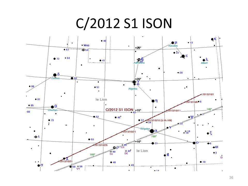 C/2012 S1 ISON 36
