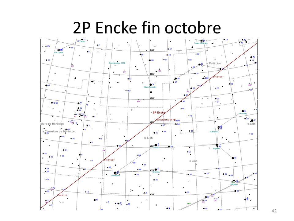 2P Encke fin octobre 42