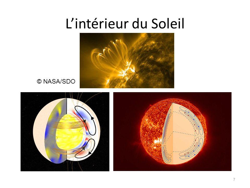 L'intérieur du Soleil 7 © NASA/SDO