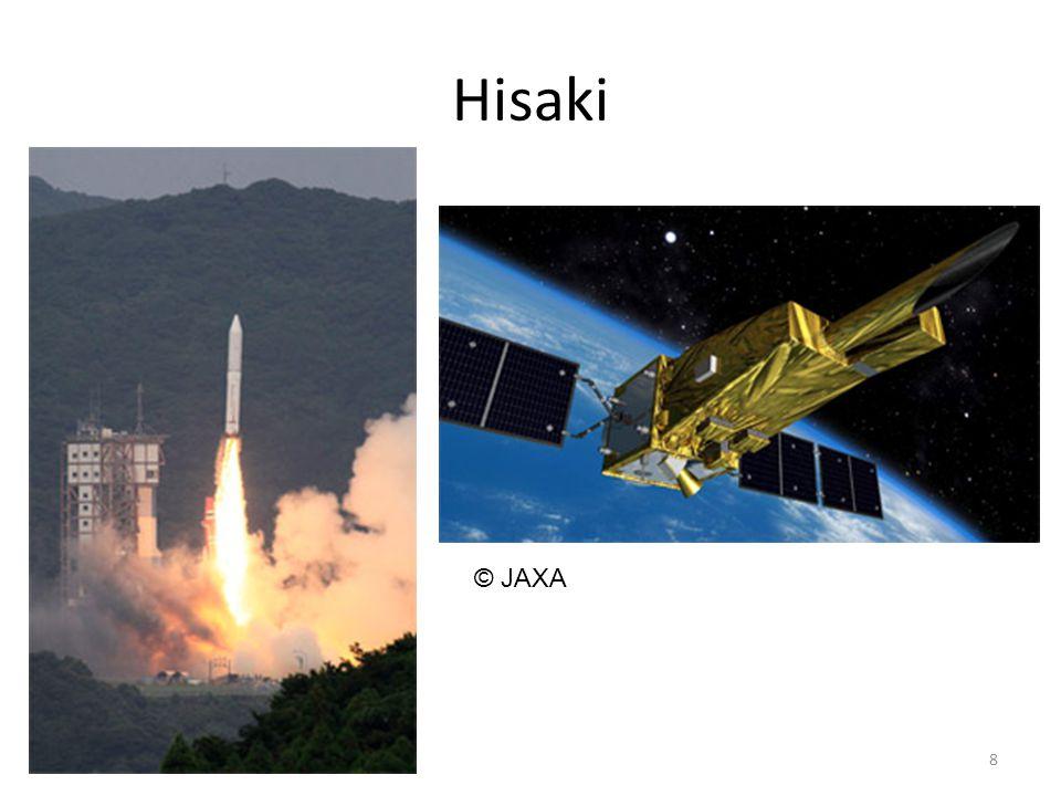 Hisaki 8 © JAXA