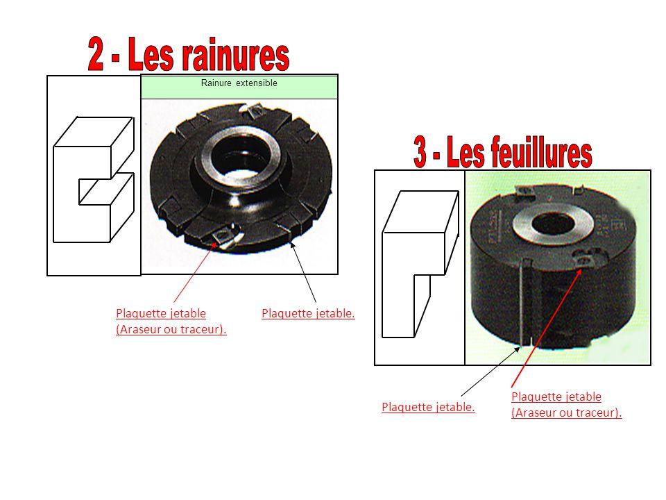 Rainure extensible Plaquette jetable (Araseur ou traceur). Plaquette jetable (Araseur ou traceur). Plaquette jetable.