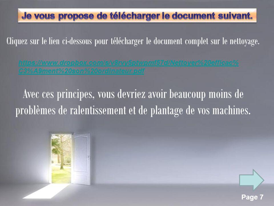 Page 6 2 – Les fichiers malveillants suite 2 - Les espions et virus.