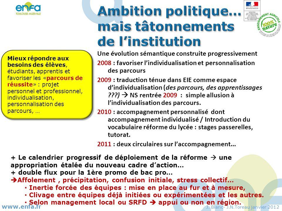 www.enfa.fr J. Blanc- J.N.Toreau janvier 2012