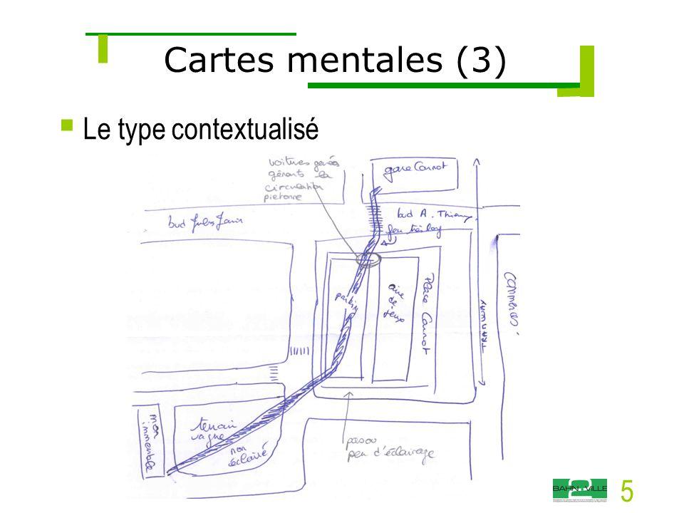 5  Le type contextualisé Cartes mentales (3)