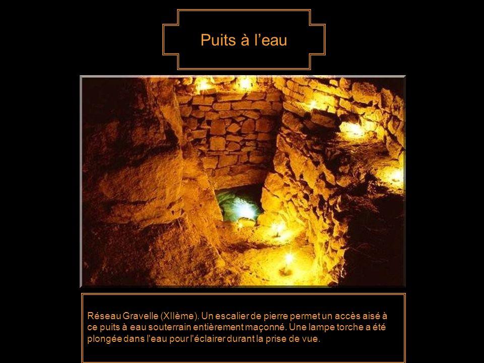 Puits à l'eau Réseau Gravelle (XIIème).