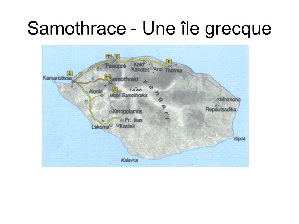 Samothrace - Une île grecque