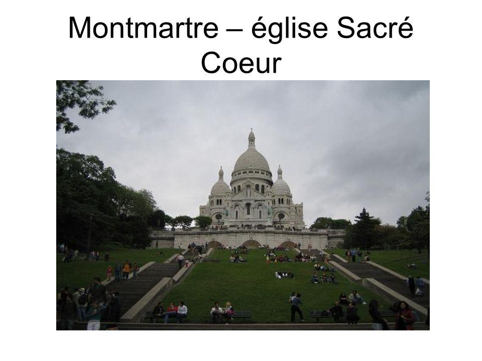 Montmartre – église Sacré Coeur