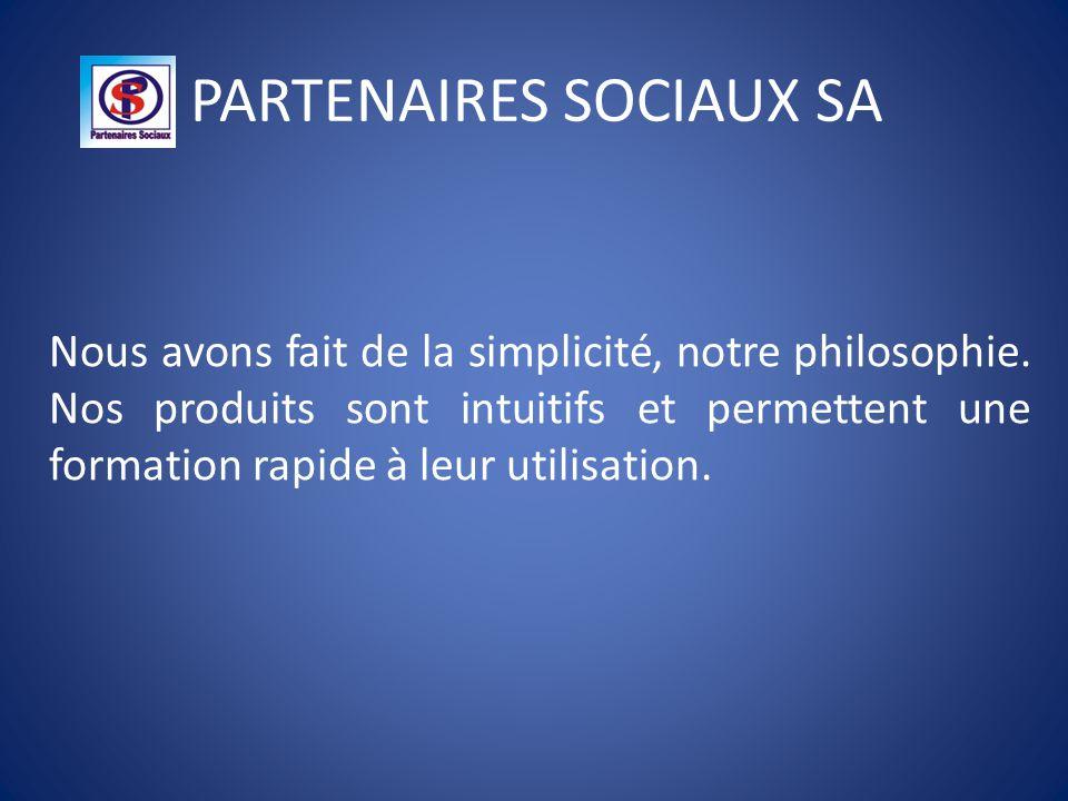 PARTENAIRES SOCIAUX SA Notre fer de lance est la programmation informatique dans les salaires luxembourgeois.