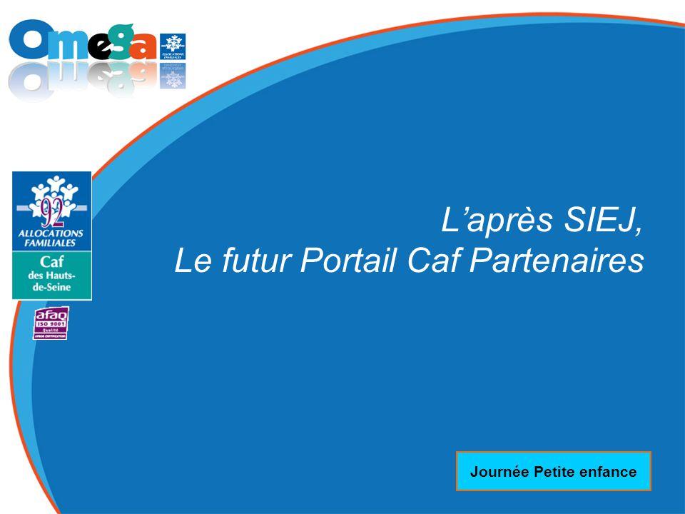 27 mai 2014 Journée Petite enfance L'après SIEJ, Le futur Portail Caf Partenaires