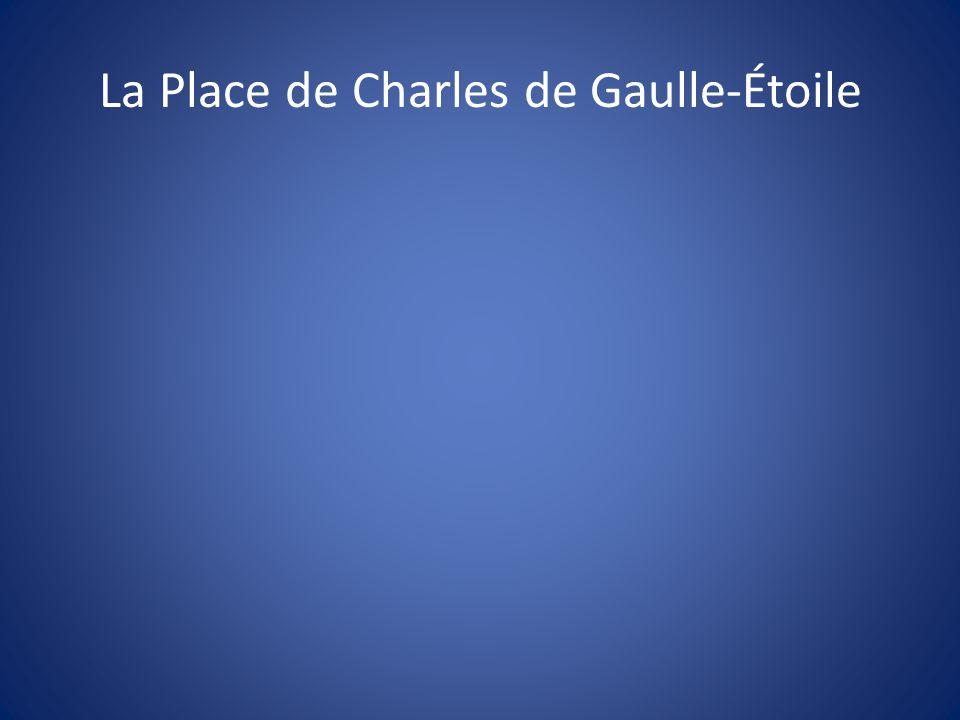 La Place de Charles de Gaulle-Étoile