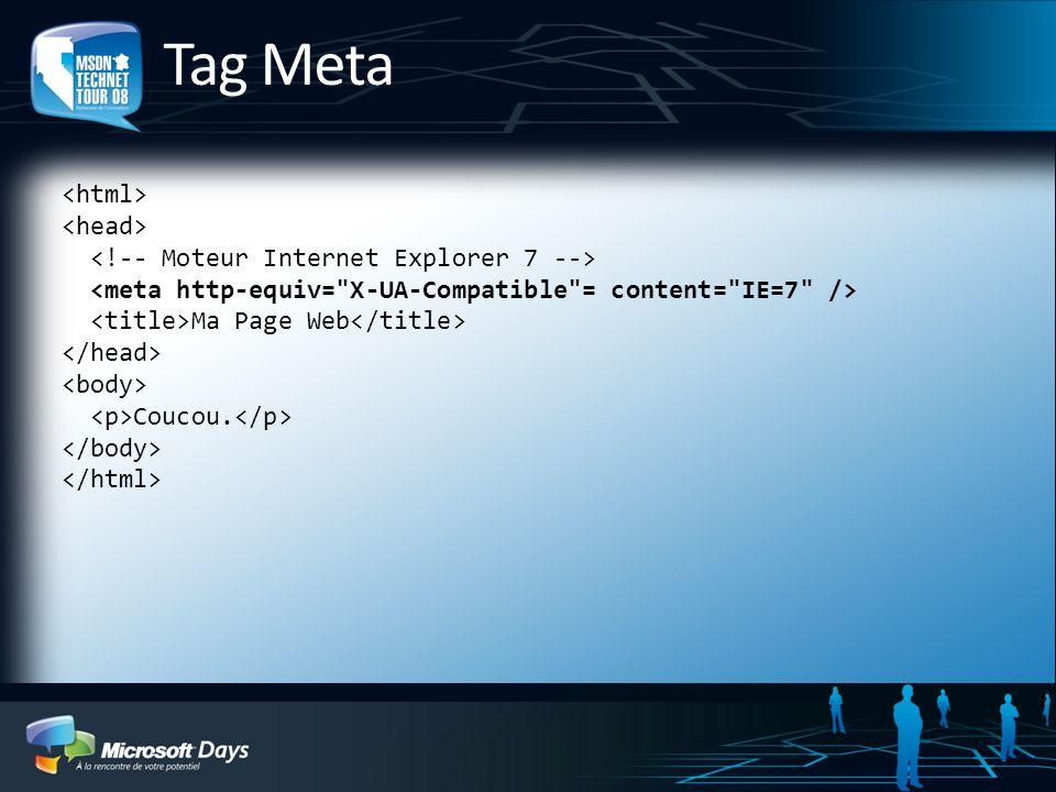 Tag Meta Ma Page Web Coucou.