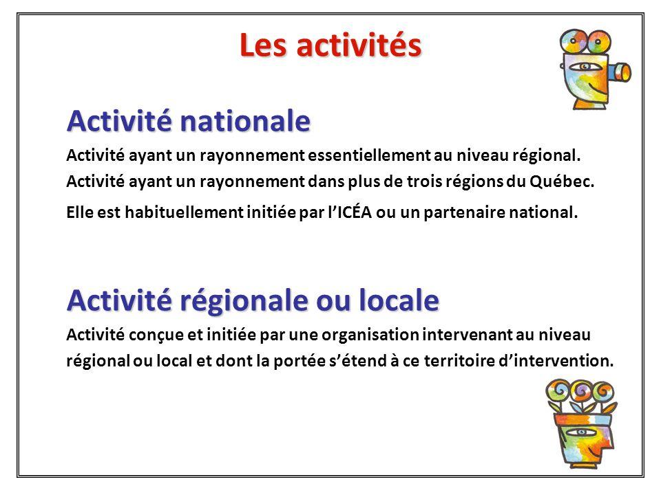 Les activités  Sont l'occasion de montrer les 1001 façons d'apprendre dont celles relatives aux trois objectifs thématiques.