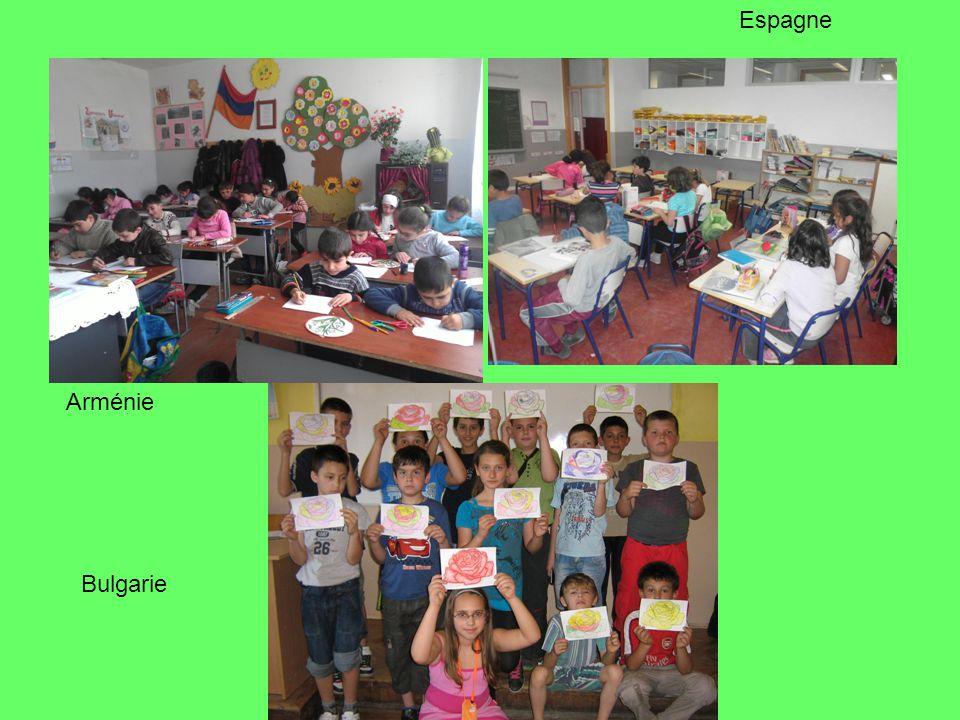 Arménie Bulgarie Espagne