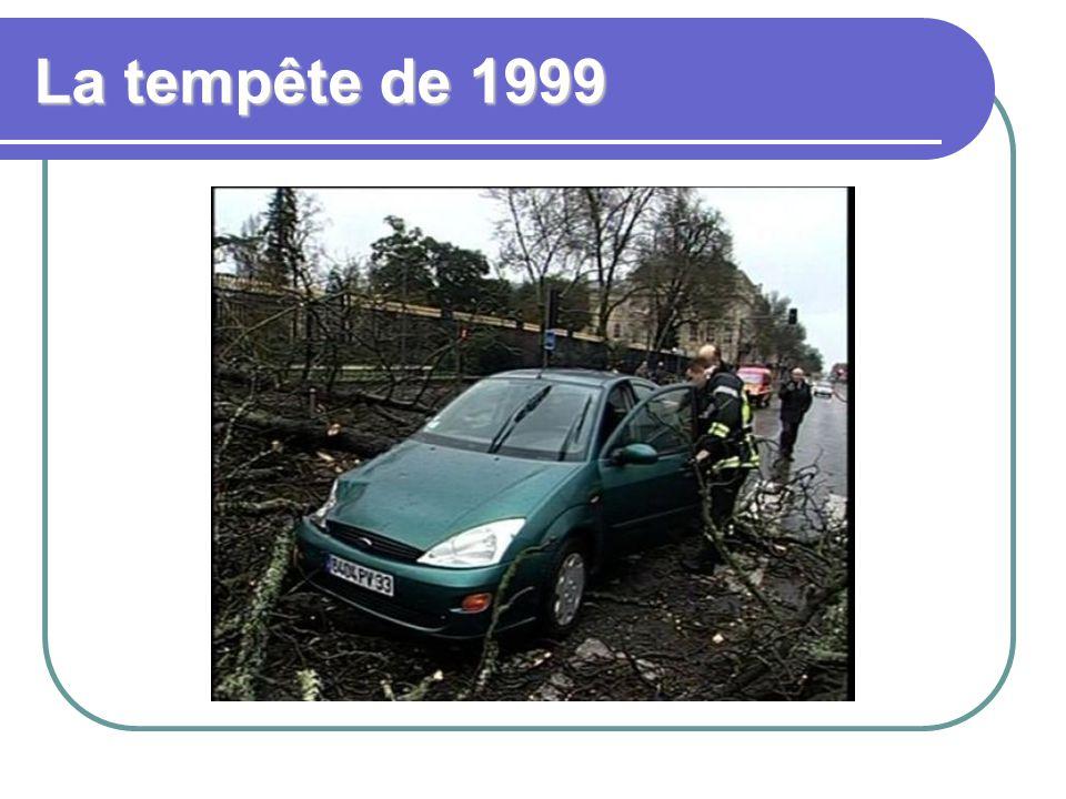 La tempête de 1999