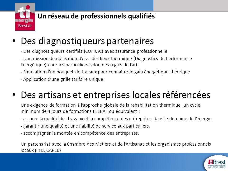 Des diagnostiqueurs partenaires - Des diagnostiqueurs certifiés (COFRAC) avec assurance professionnelle - Une mission de réalisation d'état des lieux