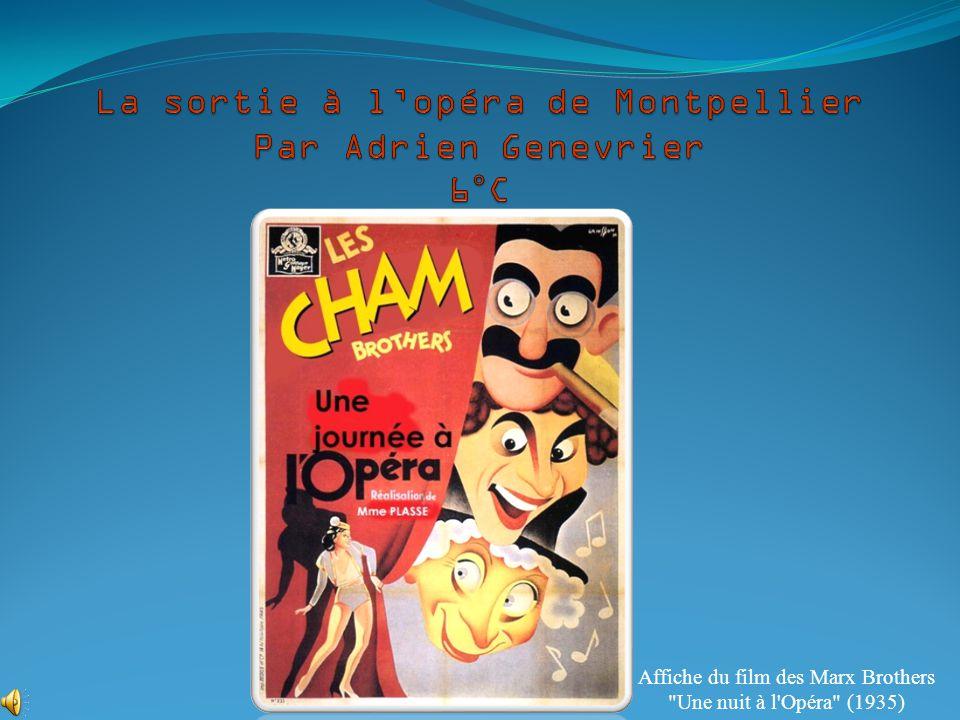 Affiche du film des Marx Brothers Une nuit à l Opéra (1935)