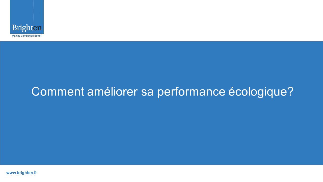 www.brighten.fr Comment améliorer sa performance écologique