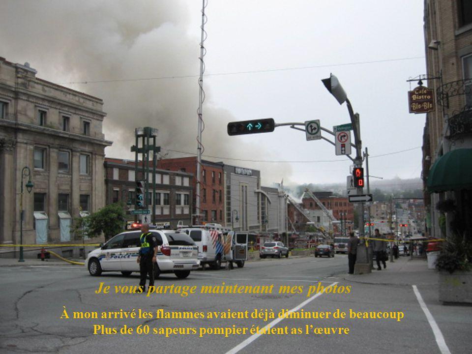 Incendie qui as débutée vers les 4hrs30 du matin