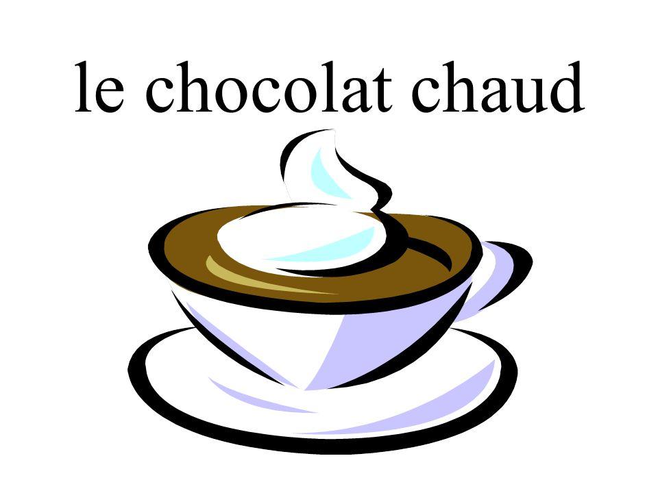 le chocolat chaud