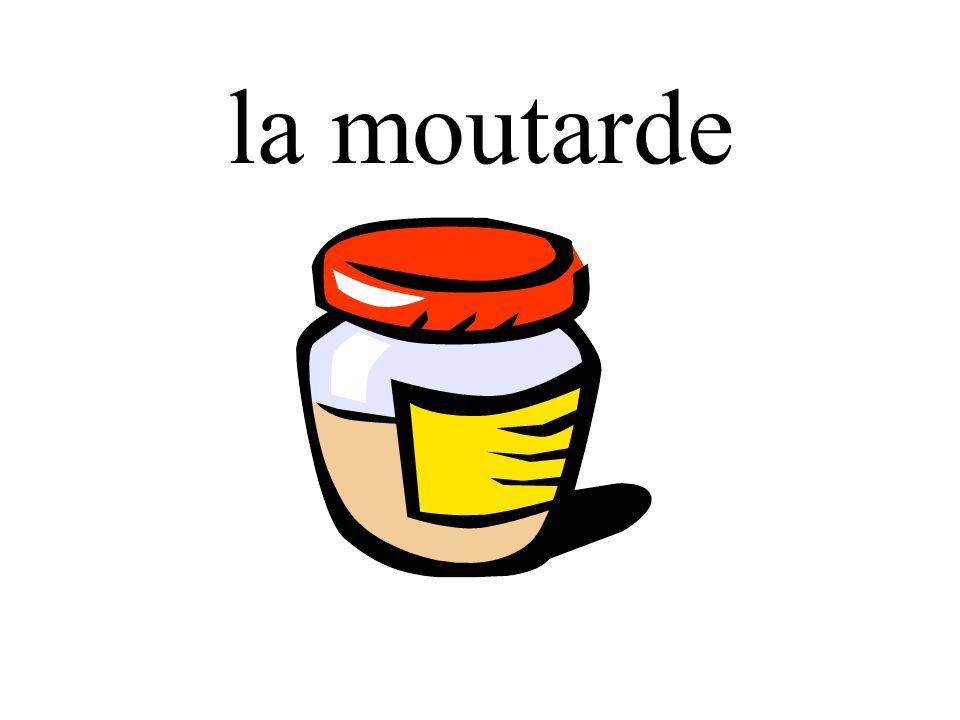 la moutarde